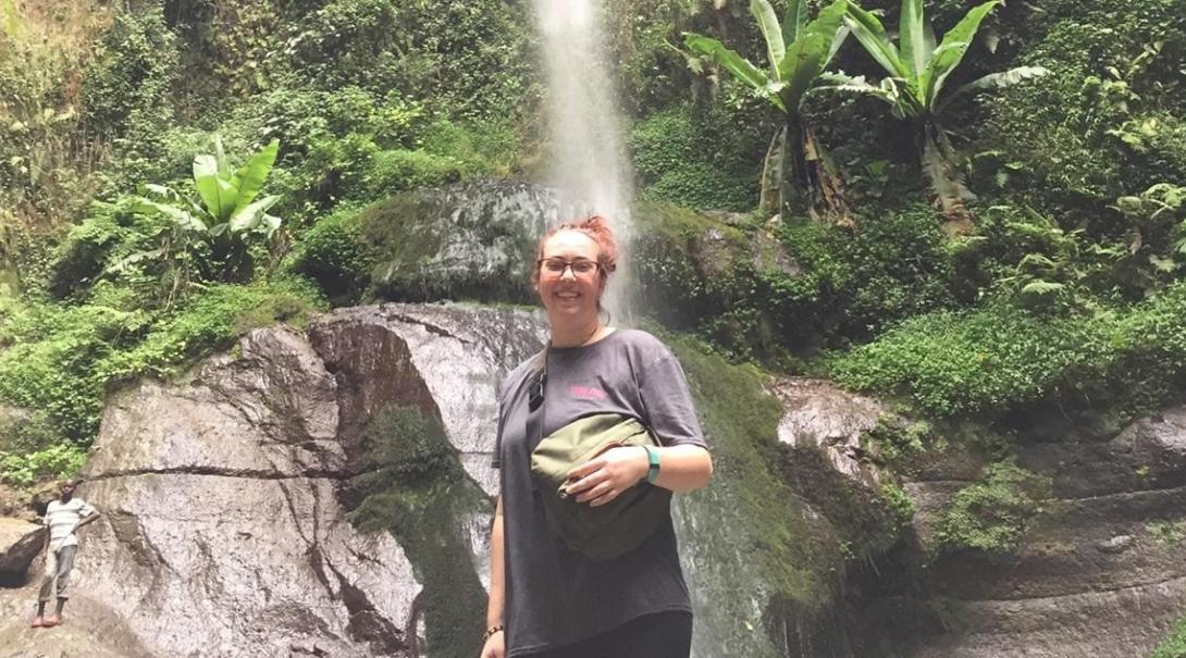 Katie C in Tanzania